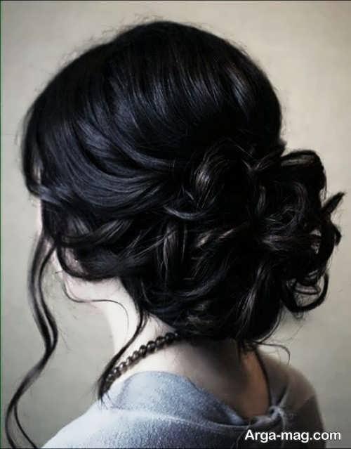 شینیون موی زیبا و بسته