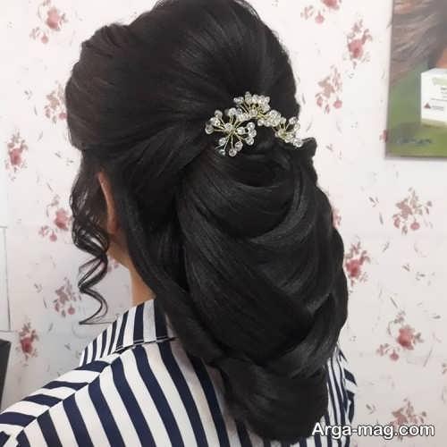 شینیون موی جذاب و زیبا
