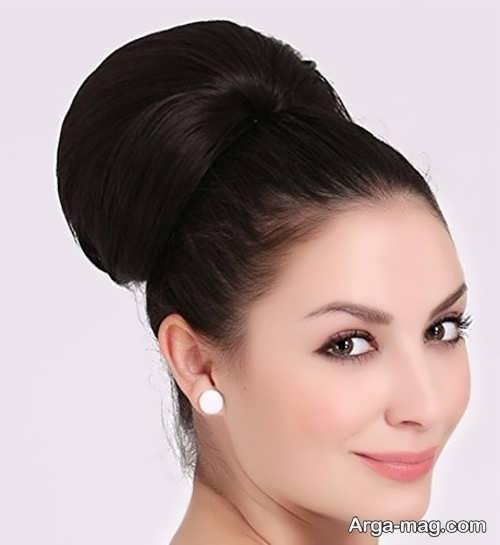شینیون موی بسته و زیبا