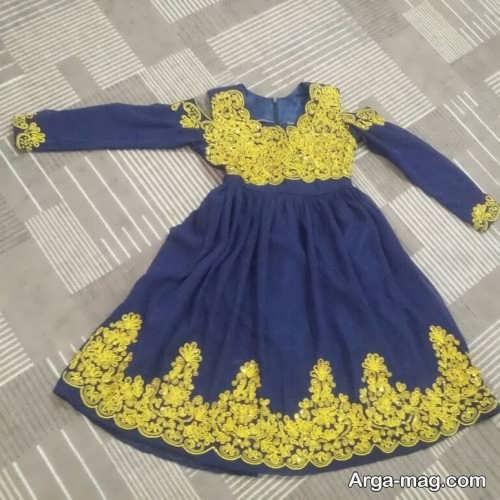 لباس بندری بچه گانه شیک و زیبا