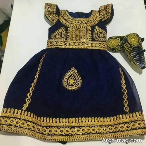 لباس بندری بچه گانه زیبا و شیک