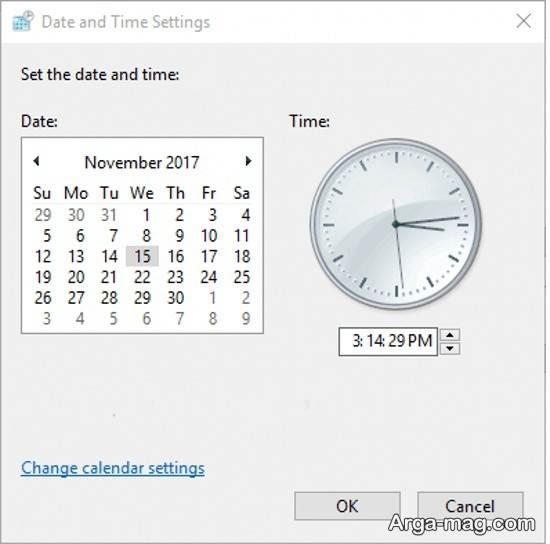 راه های مختلف تنظیم ساعت ویندوز10