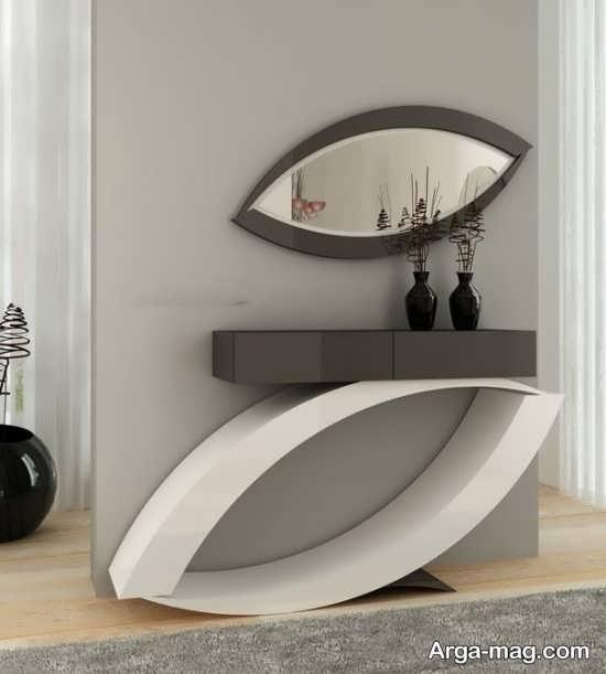 مدل میز و آینه کنسول