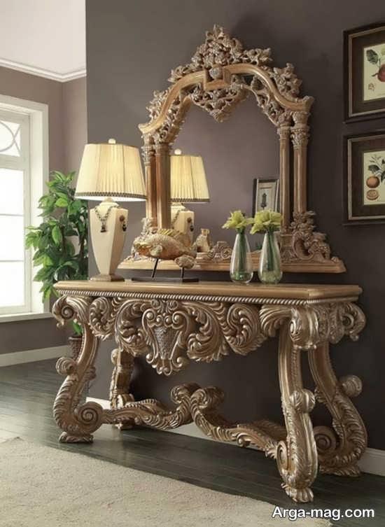 مدل میز سلطنتی کنسول و جدید