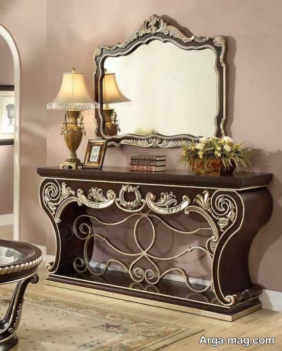مدل میز سلطنتی کنسول