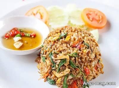 منوی غذایی تایلندی
