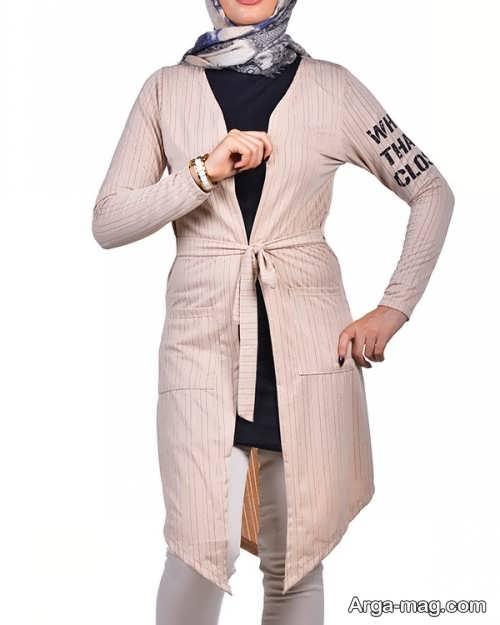 مدل مانتو نخی جلوباز