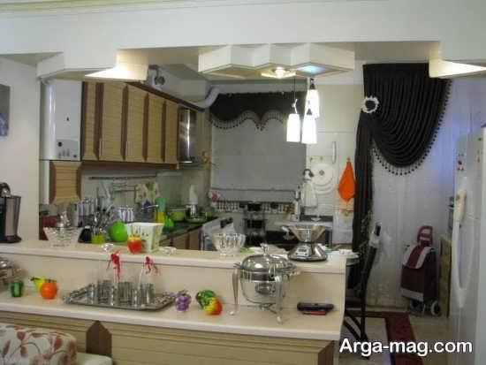 تزیینات جذاب آشپزخانه عروس