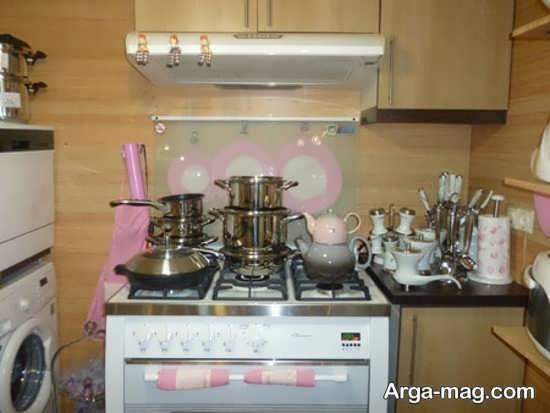 تزیینات جدید آشپزخانه عروس