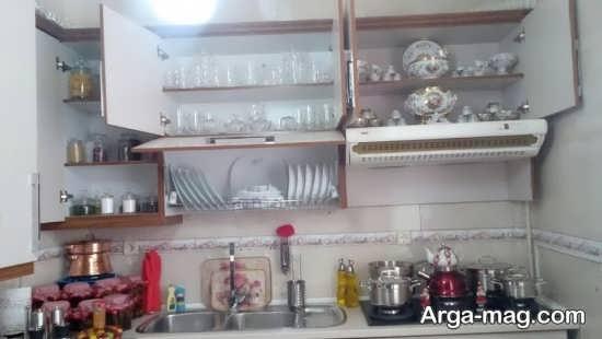 تزیینات شیک آشپزخانه عروس