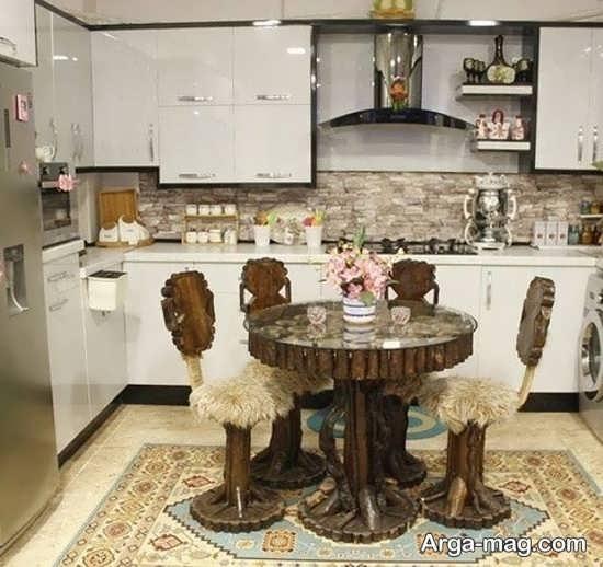 تزئین و چیدمان وسایل آشپزخانه عروس به زیباترین شکل