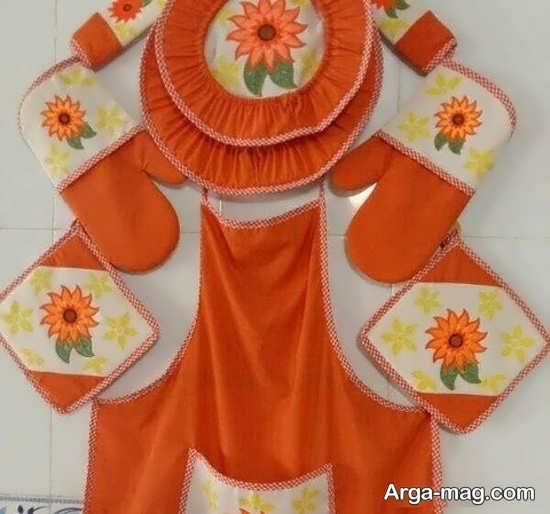 چیدمان و تزئین خلاقانه وسایل آشپزخانه عروس