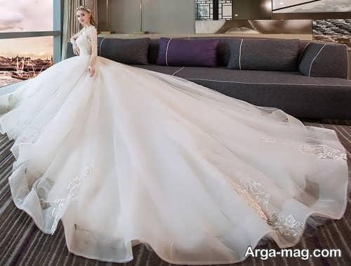 لباس عروس لاکچری اروپایی