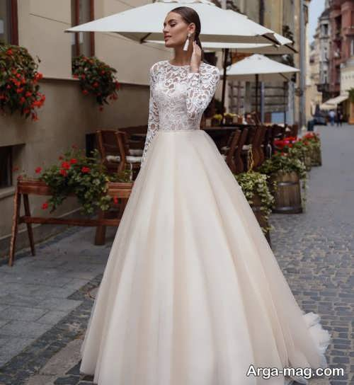 مدل پیراهن عروس شیک