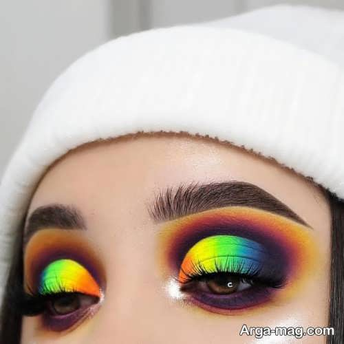 آرایش ابرو زیبا