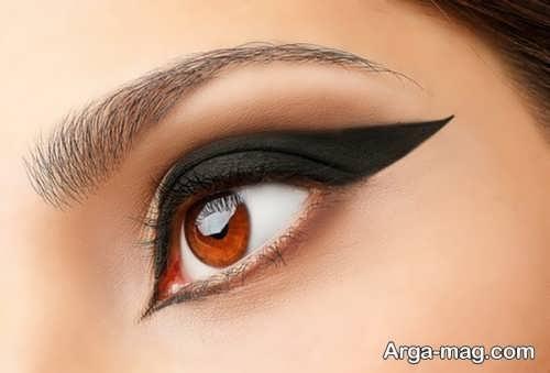 خط چشم زیبا و جذاب دخترانه
