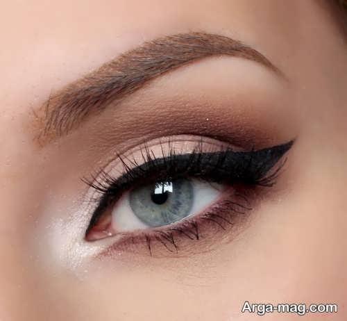 خط چشم زیبا دخترانه