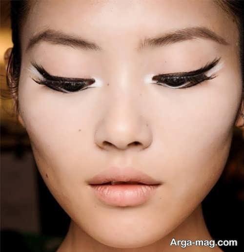 خط چشم زیبا و شیک دخترانه