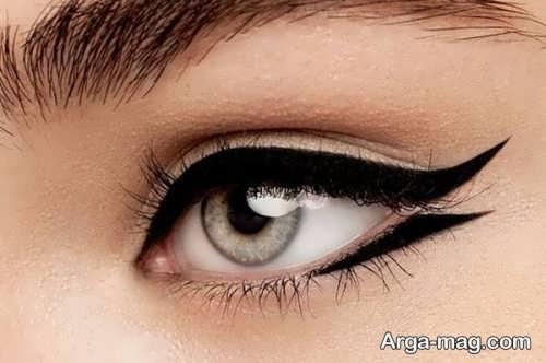 خط چشم شیک دخترانه