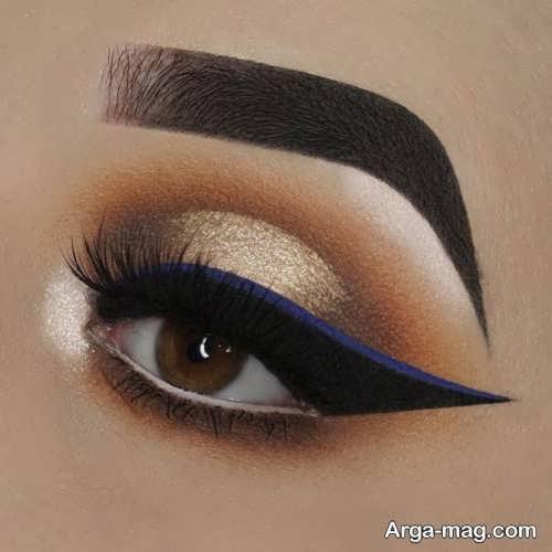 خط چشم جذاب زنانه