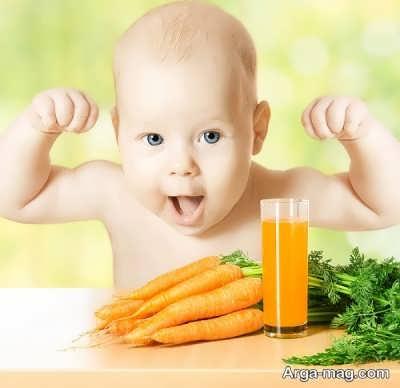 تغذیه برای نوزاد یک ساله