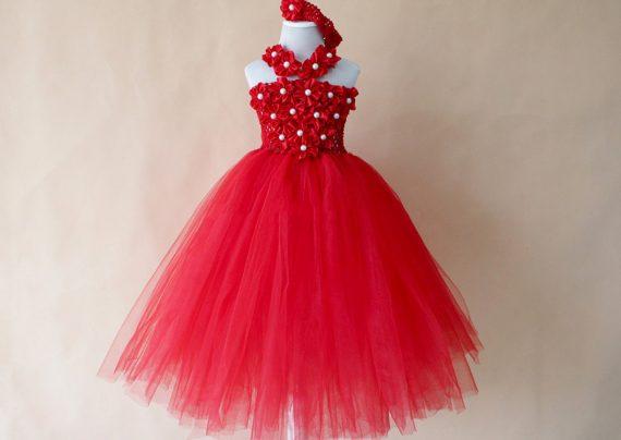 لباس مجلسی دخترانه زیر ده سال