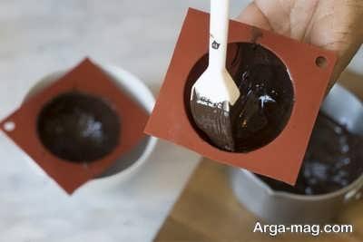 تزیین موس شکلاتی