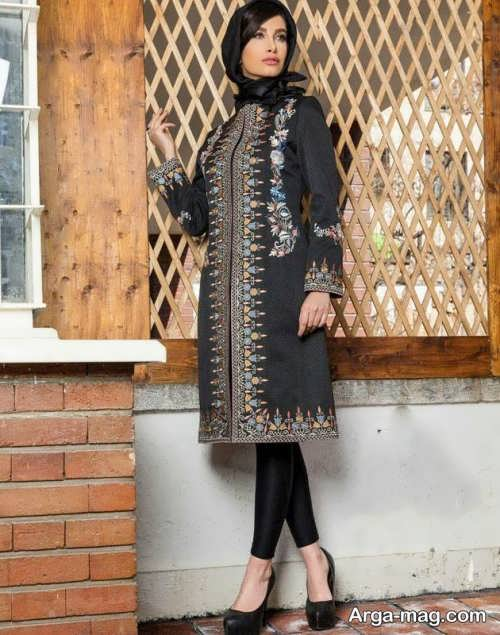 مانتو ایرانی سنتی   مدل مانتو ایرانی با طراحی شیک و چشم نواز در انواع طرح های ساده و مجلسی و سنتی