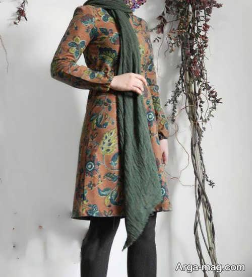 مانتو گلدار زنانه   مدل مانتو ایرانی با طراحی شیک و چشم نواز در انواع طرح های ساده و مجلسی و سنتی