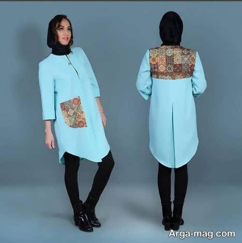 مدل مانتو کوتاه ایرانی
