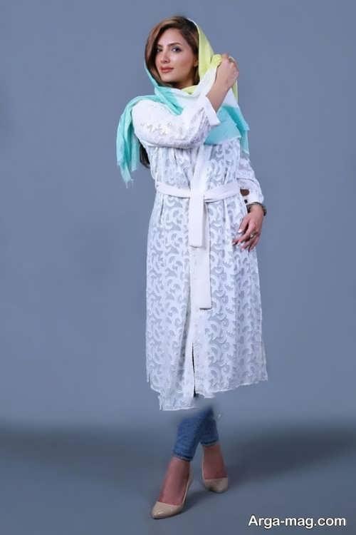 مدل مانتو تابستانه   مدل مانتو ایرانی با طراحی شیک و چشم نواز در انواع طرح های ساده و مجلسی و سنتی