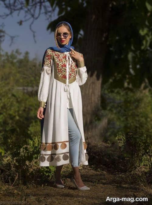 مانتو بلند ایرانی