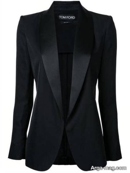 مدل کت رنگ تیره زنانه