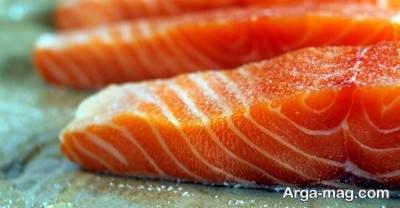 استفاده از غذای دریایی