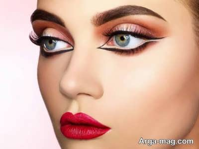 آموزش آرایش چشم درشت