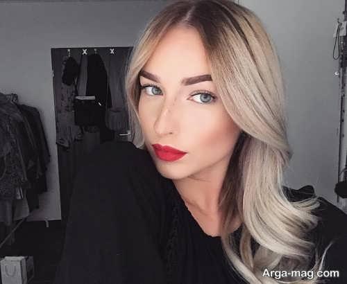مدل آرایش ملایم