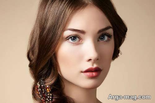 میکاپ دخترانه شیک و زیبا