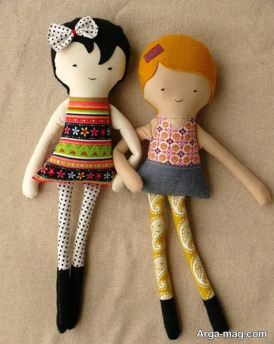 مدل عروسک های پارچه ای بامزه