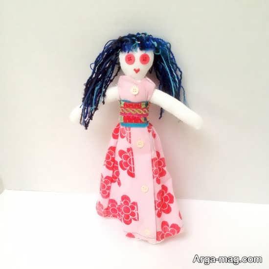 ساختن عروسک پارچه ای با ایده های جالب