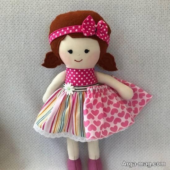 طرح های شیک برای ساختن عروسک پارچه ای
