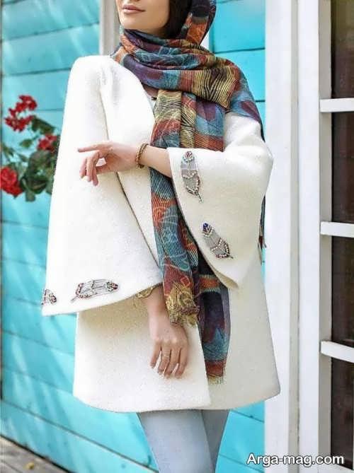 مدل مانتوی شیک برای عروس