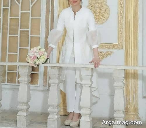 مدل مانتوی شیک عروس