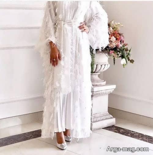 مدل مانتو زیبا برای عروس