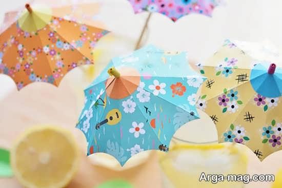 ساختن چتر با وسایل بی استفاده