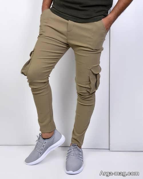 شلوار زیبا شش جیب
