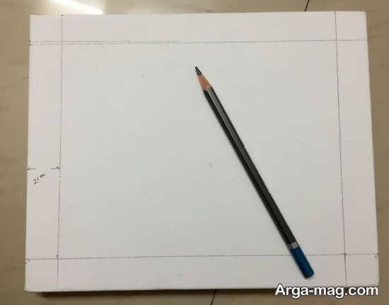مراحل ساختن قاب عکس