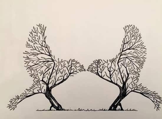 نقاشی مفهومی عاشقانه