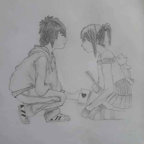 جالب ترین نقاشی رمانتیک