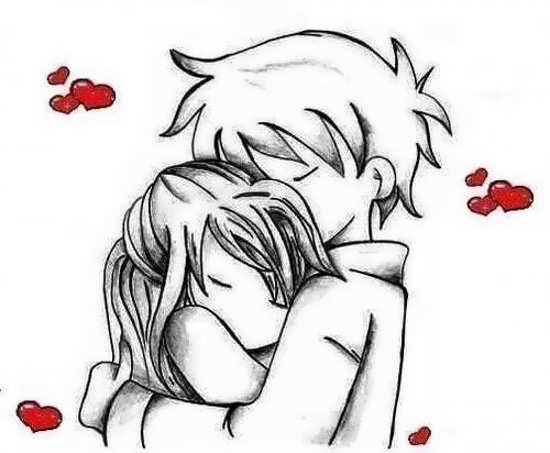 عکس نقاشی زیبا عاشقانه