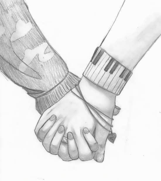 عکس نقاشی زیبای عاشقانه